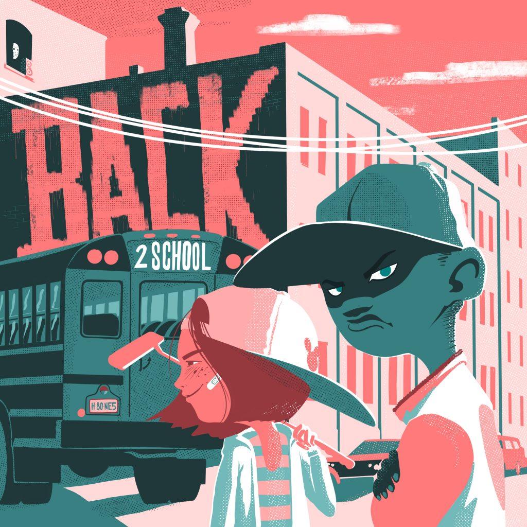 HARRYBONES_BACK2SCHOOL_BACKINTHEDAYSRECORDS_COVERART